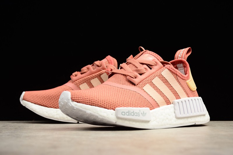sneakers for cheap 8af99 1609b Adidas NMD R1 Womens Trainers Raw Pink S76006 On Sale