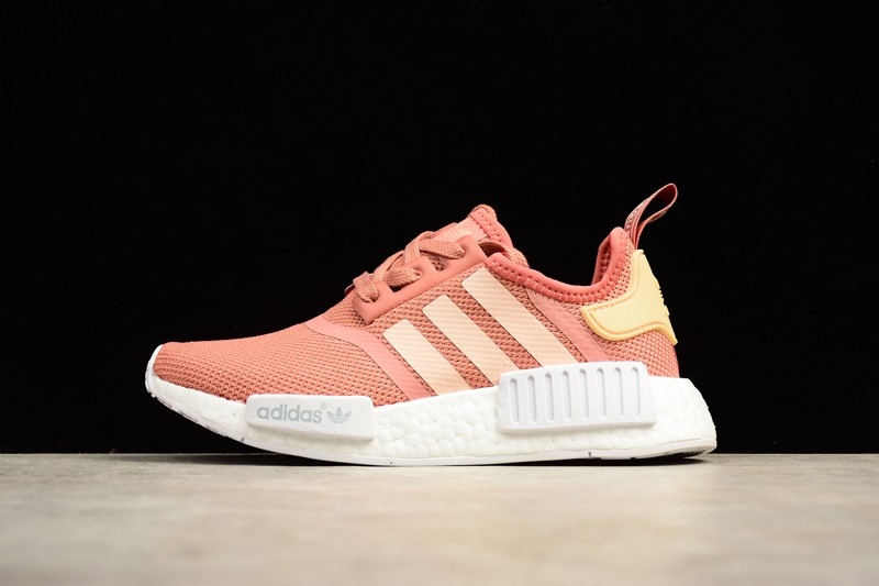sneakers for cheap 3f91c 66059 Adidas NMD R1 Womens Trainers Raw Pink S76006 On Sale