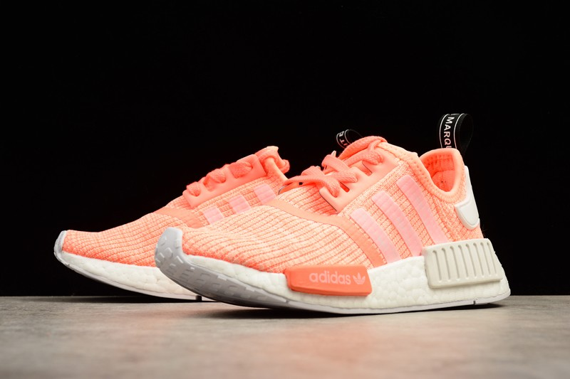 845a6d74a3ad7 Adidas Wmns NMD R1 Sun Glow Orange White BY3034 For Sale