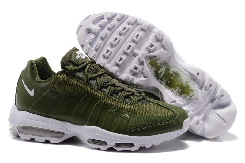 buy popular 402d6 f05a7 Buy Nike Air Max 95 Olive green/White For Sale Cheap