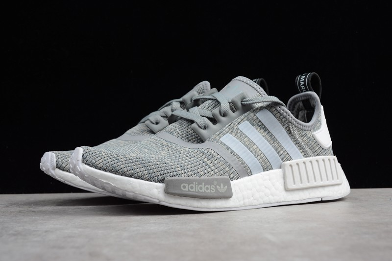 36f8e2ca963e2 Men s Adidas NMD R1 Glitch Camo Grey BB2886 In Stock
