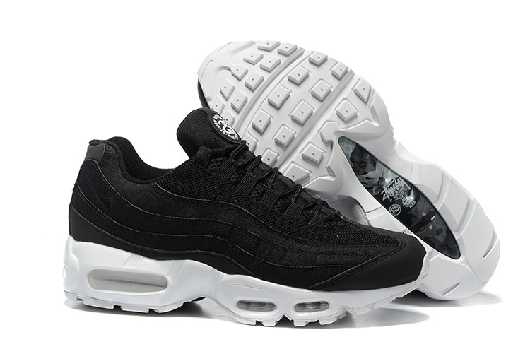 Mens Nike Air Max 95 Premium Se Black White 924478 001 For Sale