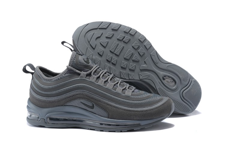 Mens Nike Air Max 97 Dark Grey Suede In Stock 2018 New  71a5e118661c