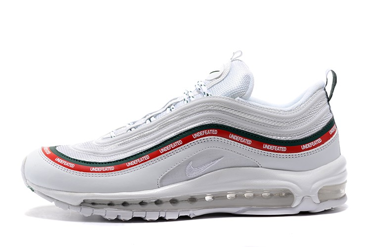 Nike Air Max 97 OG Shoes Cheap Mens and Womens Undefeated x Nike Air Max 97 OG White ...