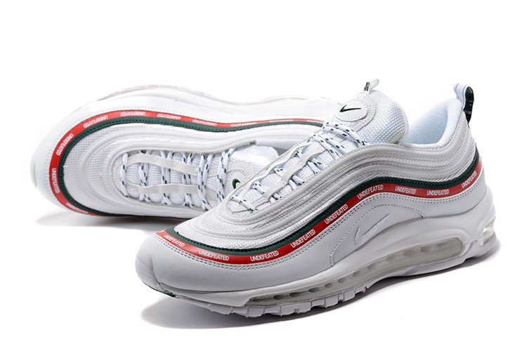 Cheap Mens and Womens Undefeated x Nike Air Max 97 OG White ... 956ad4508aa67