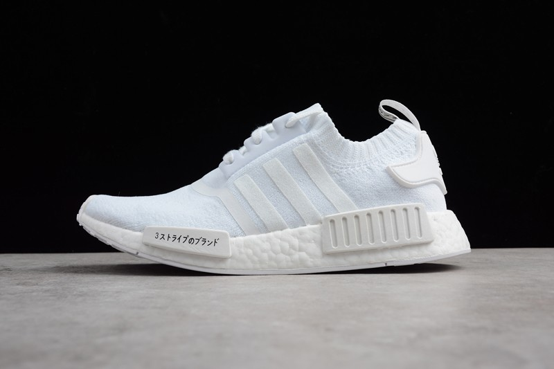 New Adidas NMD R1 Triple White Men s And Women s Casual Sneaker ... 84c6e9425
