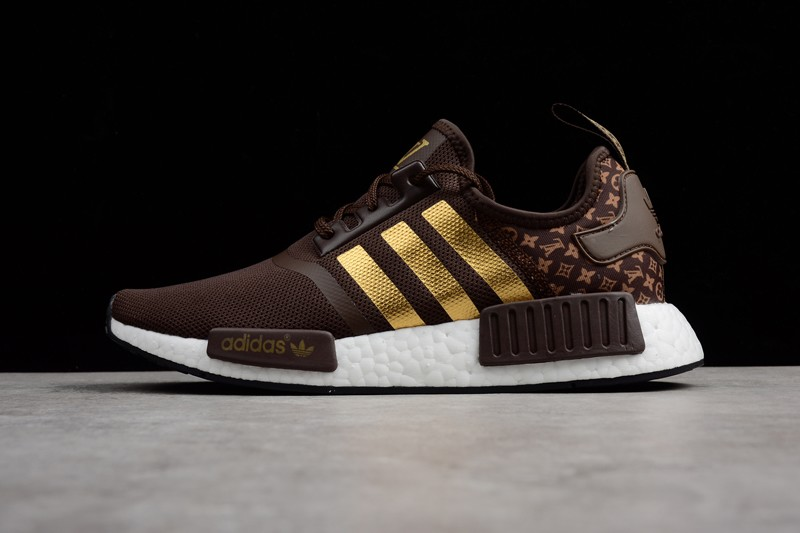 3c21ff2c5ad5 New Men s Shoes Adidas NMD R1 Brown White Gold BA7789 Footwear ...
