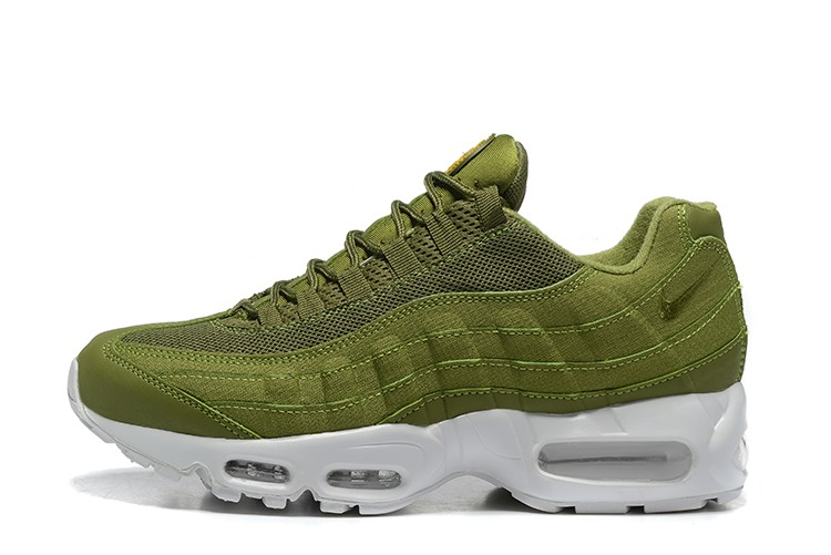 1a44a9c853f486 Nike Air Max 95 Essential Men s Shoes Army green For Sale
