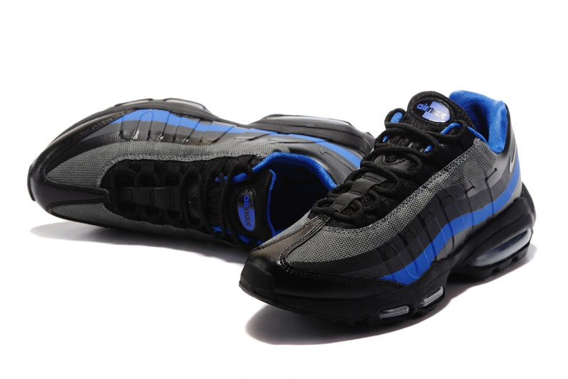 Nike Air Max 95 Ultra Essential Black Blue Mens Size For Sale