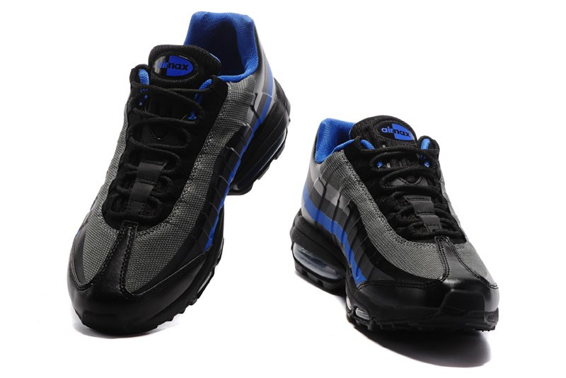 separation shoes 5acf0 26758 Nike Air Max 95 Ultra Essential Black/Blue Mens Size For Sale