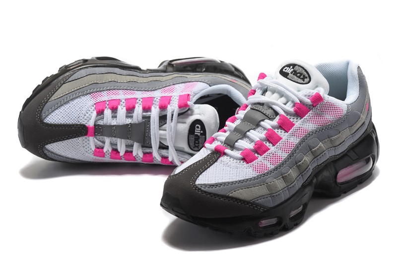 """Nike Air Max 95 Ultra Essential """"Grey/Pink/Black"""" Womens For Sale ..."""