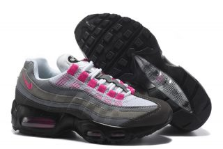 """best sneakers bc4fc 121bb Nike Air Max 95 Ultra Essential """"Grey Pink Black"""" Womens For Sale"""