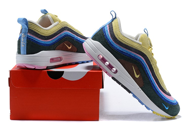 Air Max 97 Bleu Rose Jaune 7DSUWkiFu