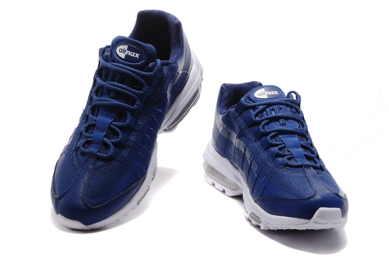 san francisco 5cd29 778a4 Top Quality Nike Air Max 95 Ultra Essential Blue/White In Stock