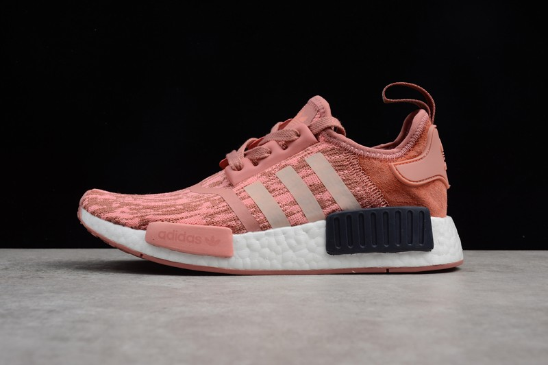 new concept 86257 847fb Women's Adidas NMD BY9865 Pink Fashion Leisure Sneakers For Sale