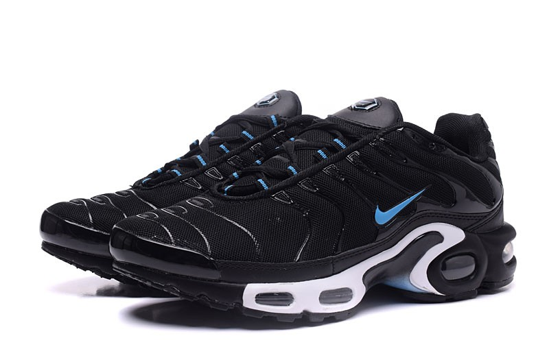 new arrival 9d6dc 6044c 2018 New Nike Air Max Plus TN Ultra Black/Moonlight Blue Casual Sneakers