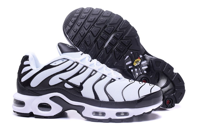 wholesale dealer f5684 7f253 2018 New Nike Air Max Plus TN Ultra White/Black 898015-101 For Sale