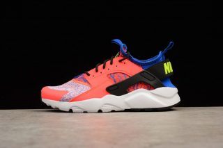 lowest price e752b 287b1 2018 New Release Nike Air Huarache Run Ultra 753889-996 Pink Blue White  Sports Shoes