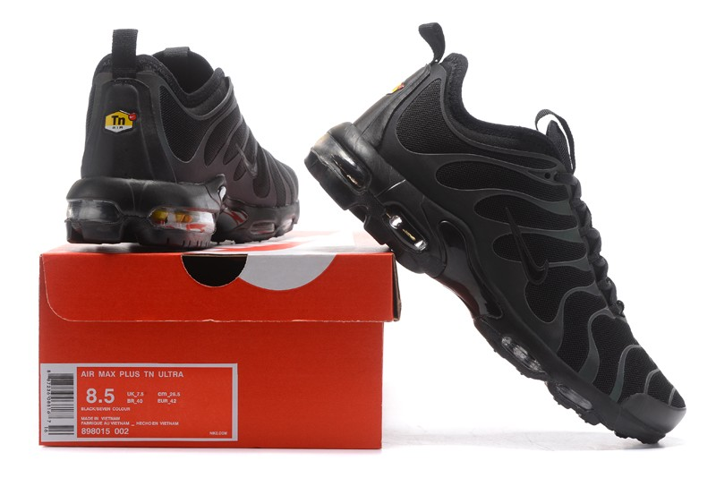 0862cae14907 Best Nike Air Max Plus TN Ultra Black-Anthracite 898015-002 Sneakers ...