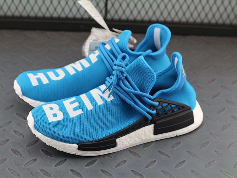 sports shoes 57a45 c381a Best Pharrell Williams x Adidas NMD Human Race Shoes