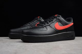 Classic Nike Air Force 1 Black/Gym Red
