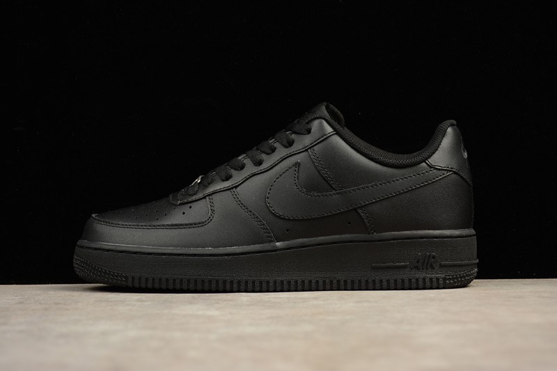 new product 83758 7050b Classic Nike Air Force 1 Low Black Unisex Casual Shoes 315122-001