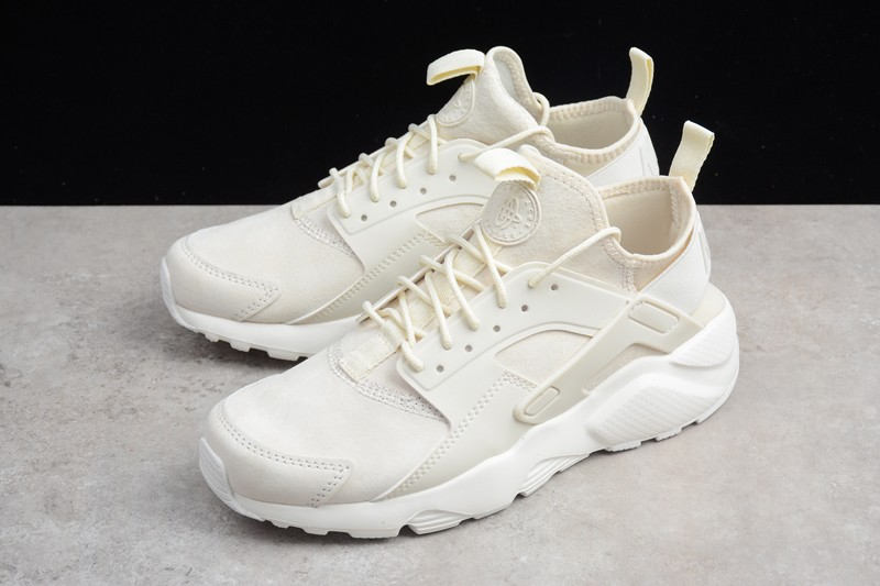 d1e6e73d04c93 Classic Nike Air Huarache Run Ultra ID Rice White 829669-665 Running Shoes
