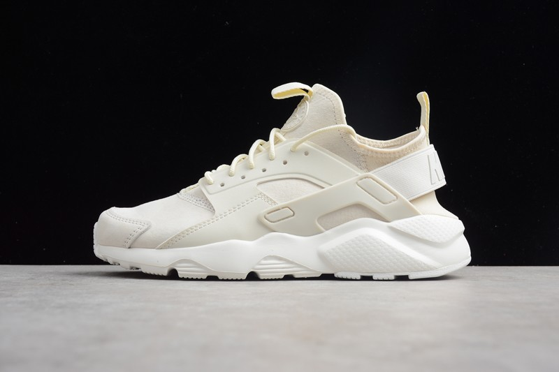 a56d08edd574 Classic Nike Air Huarache Run Ultra ID Rice White 829669-665 Running Shoes