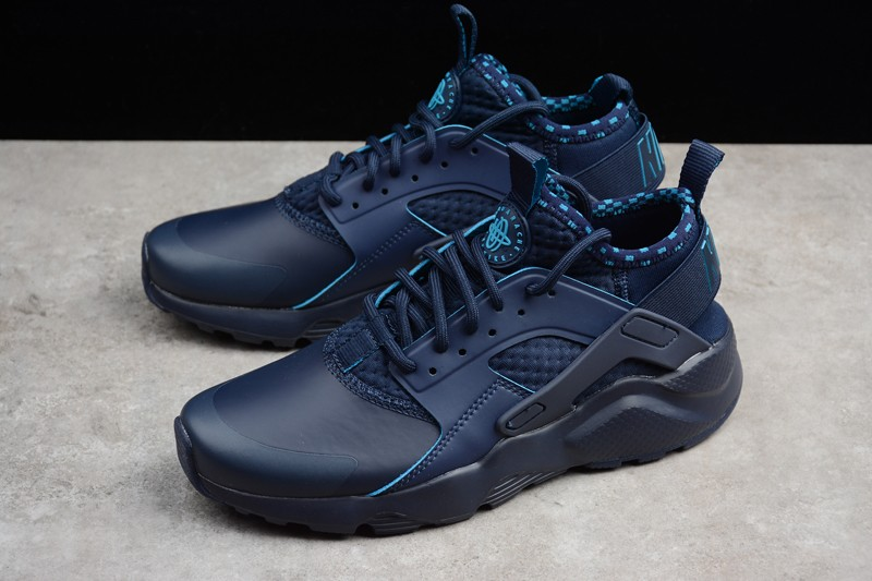 finest selection 54641 830be Classic Nike Air Huarache Ultra Obsidian Blue 875841-400 For Sale
