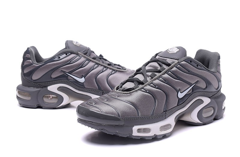 Classic Nike Air Max Plus TN Ultra Cool GreyWhite Lifestyle Shoes For Sale
