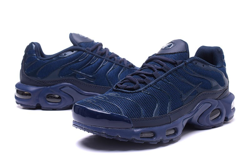 online retailer 27a56 e573f Comfortable Nike Air Max Plus TN Ultra Navy Blue 898015-106 Men s Running  Shoes