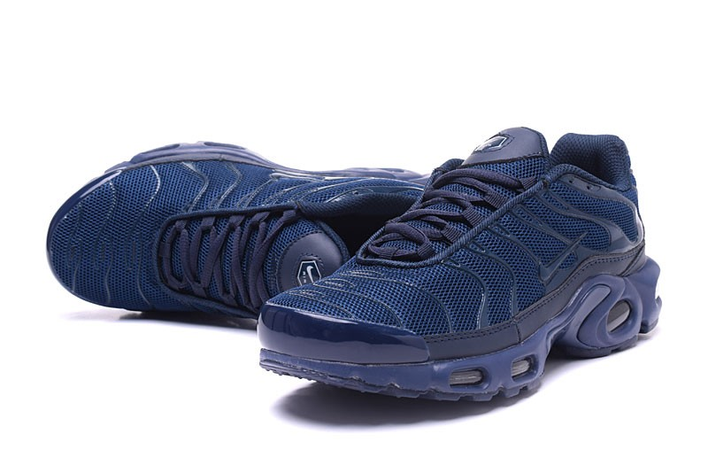 7d722d711c Comfortable Nike Air Max Plus TN Ultra Navy Blue 898015-106 Men's Running  Shoes