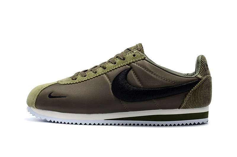 nike cortez men green