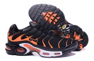 3ef238bea3c High Quality Nike Air Max Plus TN Ultra Black Orange Men s Size Running  Shoes