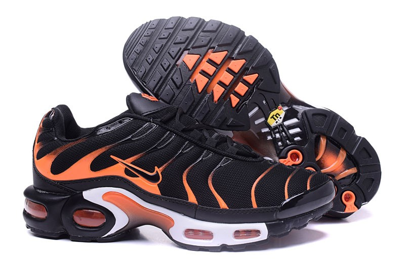 best loved 549dc c588f High Quality Nike Air Max Plus TN Ultra Black/Orange Men's Size Running  Shoes