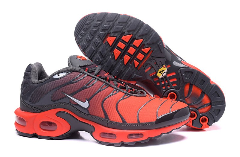 High Quality Nike Air Max Plus Tn Ultra Grey Orange Running Shoes