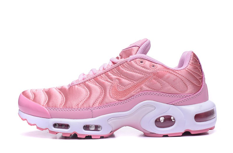 best website e115e a5090 Hot Selling Nike Air Max Plus TN Pink/White Women's Running Shoes Sneakers