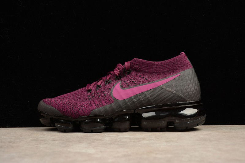 Hot Selling Nike Wmns Air VaporMax Flyknit Purple 849557-605 Running Shoes b561355dedc3