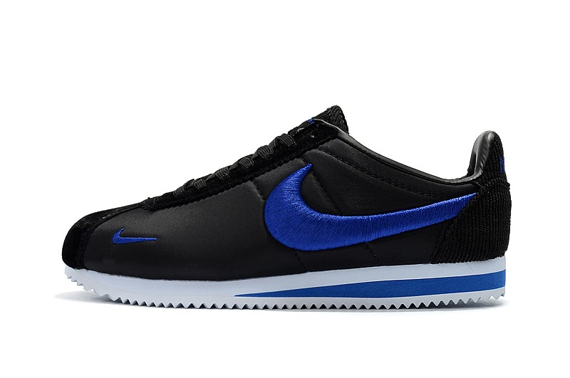 9d504da9e6f Latest Style Nike Cortez Black Blue Men s And Women s Running Shoes Sneakers