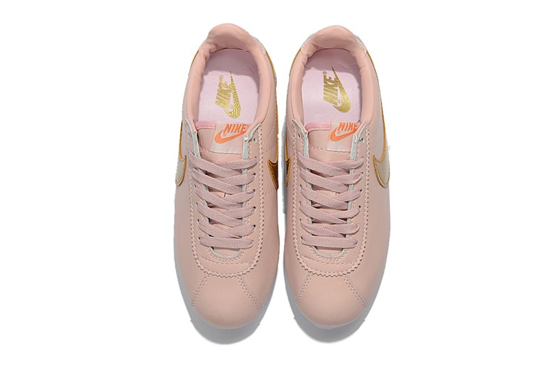 Running Popular Sports Nike 800 PinkGold Shoes Cortez 807471