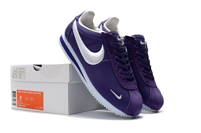 pretty nice ed779 d60bc ... usa most popular nike cortez purple white mens and womens running shoes  46088 5a87c