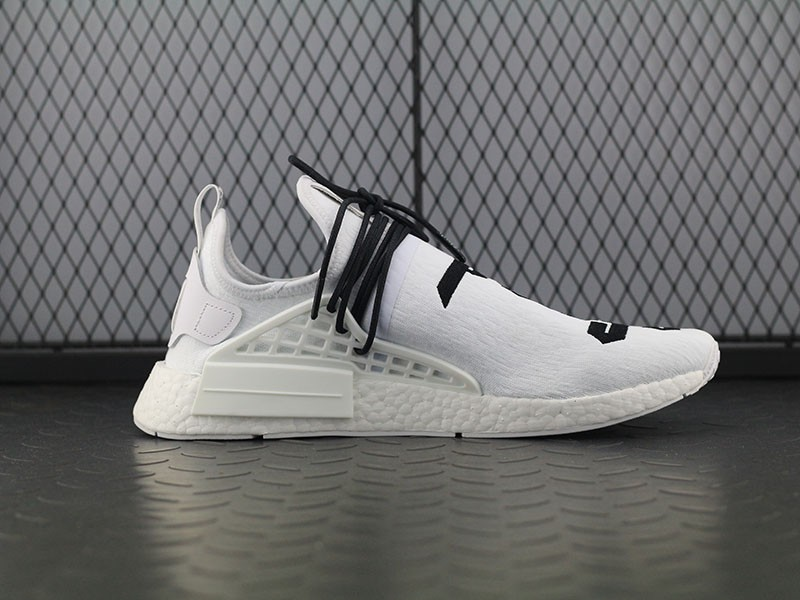 New Adidas NMD x Pharrell Williams Human Race White God Of Fear Sale ... 3cd325f11