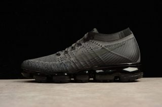43968c6f2cc8 Nike Air VaporMax Flyknit Triple Black AH3397-004 Running Shoes For ...