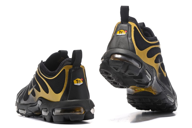 newest af8d0 cd5da New Arrivel Nike Air Max Plus TN Ultra Black Gold ...