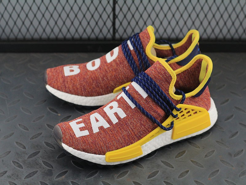 check out 1162b 7b34c New Men's Pharrell x Adidas NMD Human Race Color Knit