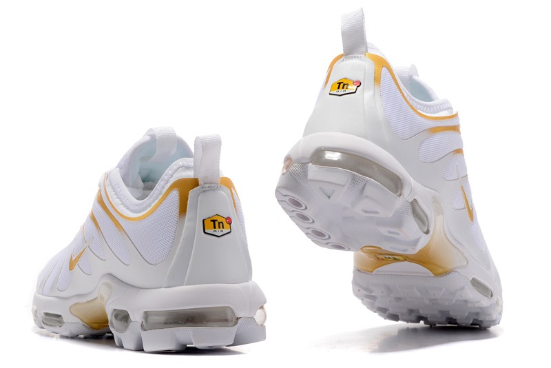 the best attitude a5b63 11544 New Style Nike Air Max Plus TN Ultra White/Gold 898015-013 Running Shoes  Sale