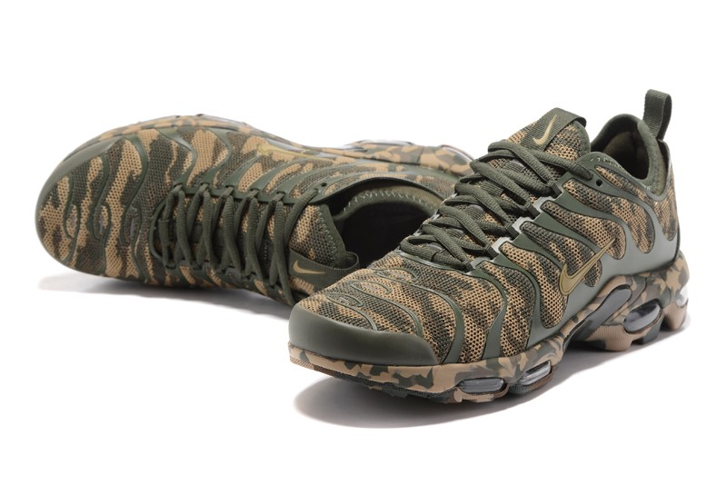 New Style Nike Air Max Plus Tn Ultra Green Camouflage 898015-027 Running  Shoes Sneakers 92f646493