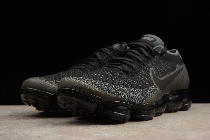 New Style Nike Air Vapormax Flyknit Triple Black 849558 007