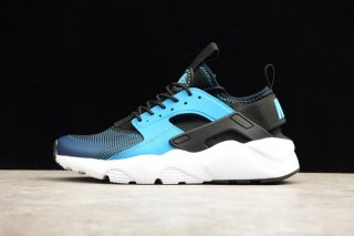san francisco 96464 c2ed0 Newest Nike Air Huarache Run Ultra Blue Lagoon Black White 819685-401  Running Shoes