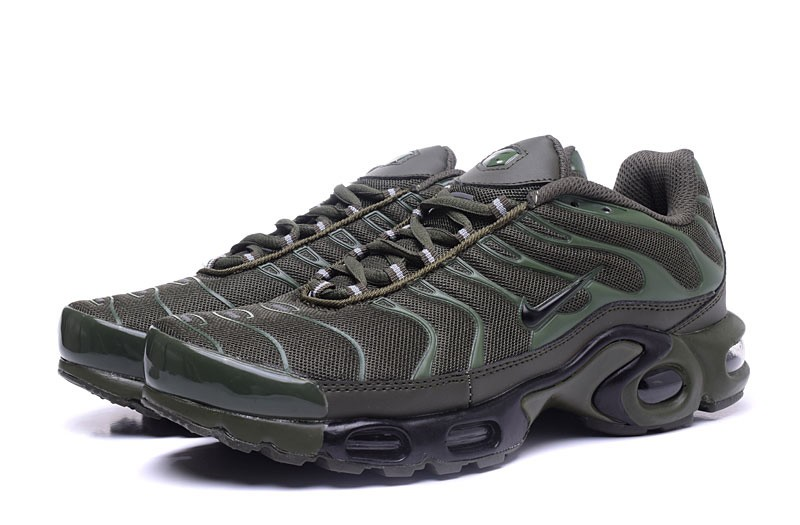 check out 1dd5b 99dba Newest Nike Air Max Plus TN Olive Green Women's Sports Shoes On Sale